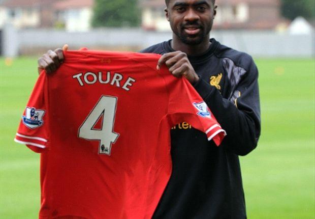 Kolo Toure wird ab der kommenden Saison das Trikot mit der Nummer Vier bei den Reds tragen