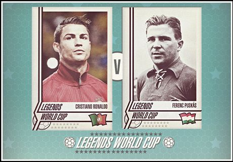 Legends World Cup: Ronaldo v Puskas
