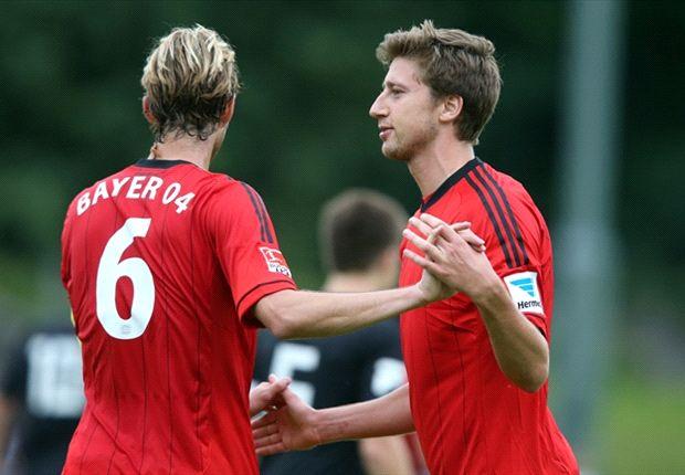 Leverkusen hat im ersten Testspiel Grund zur Freude