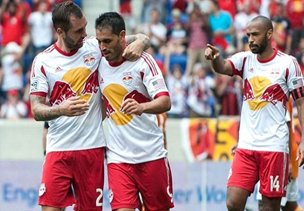 Houston Dynamo 1-4 New York Red Bulls: Visitors dismantle Houston