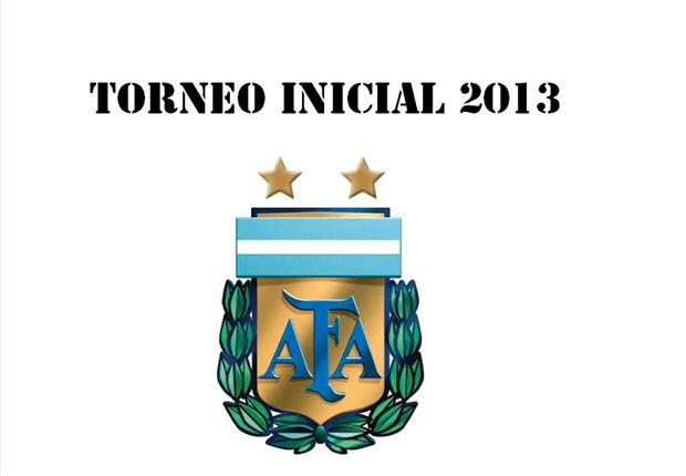 El fixture del Torneo Inicial 2013