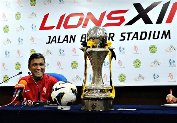 Sundram led the LionsXII to the league title, Singapore's first since 1994