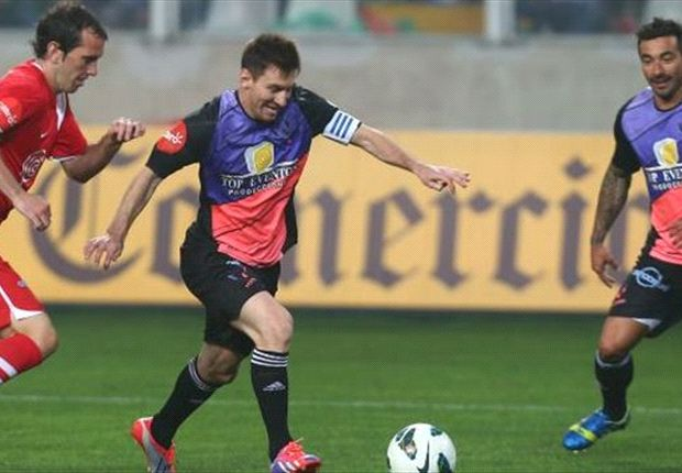 Messi & Neymar shine in charity game