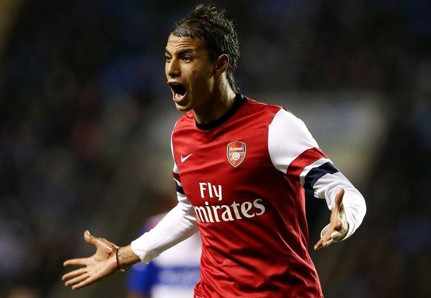 Crystal Palace signs striker Chamakh from Arsenal