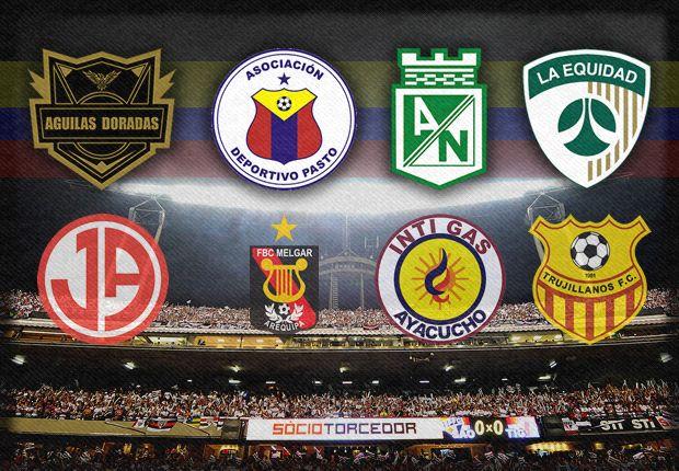Así jugarán los equipos colombianos la Copa Sudamericana 2013