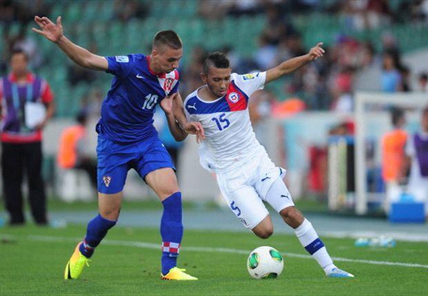Chile setzte sich im Achtelfinale gegen Kroatien durch
