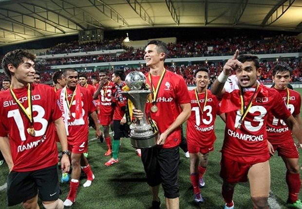 Singapore centreback Baihakki hopes to do the Double after winning the MSL earlier this year