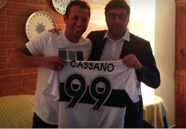 Cassano se va de Inter a Parma