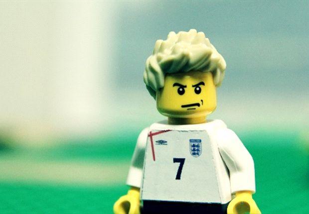 Lego-ldenballs: Beckham's career as you've never seen it before