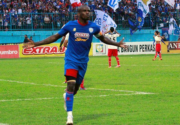 Nwokolo helped Arema win the recent 2013 Menpora Cup.