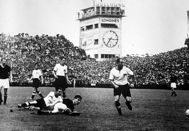 Mit Deutchland gewann Toni Turek '54 die WM.