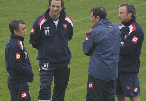 Pizzi puede estar tranquilo por los refuerzos. El viernes llegaron Cauteruccio y Emmanuel Mas.