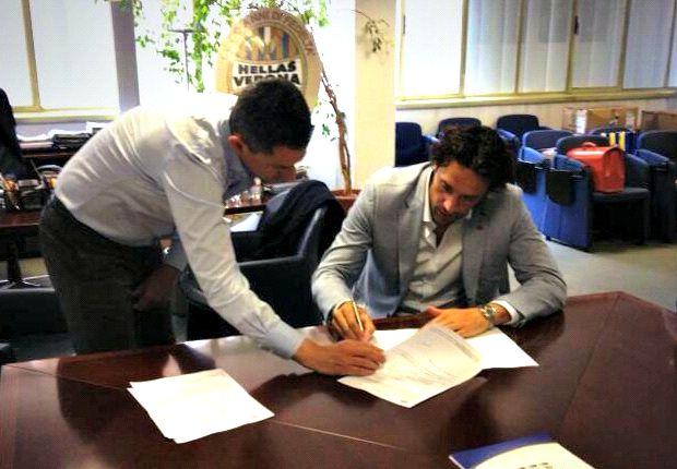 Verona announce Toni signing