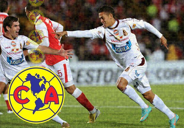 Andrés Andrade, nuevo jugador de América de México
