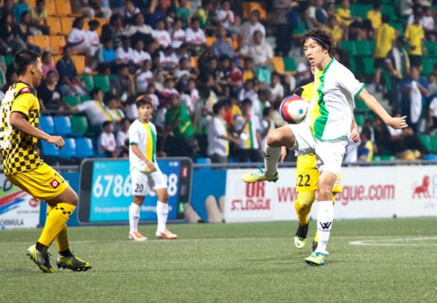 Woodlands pulled off a stunning 5-2 win over Brunei DPMM after falling two goals behind