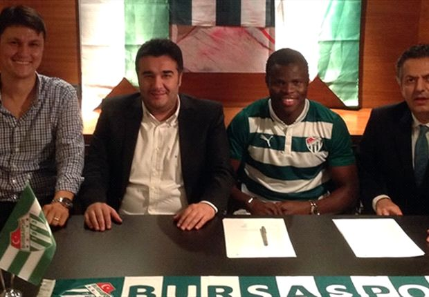 Taye Taiwo joins Bursaspor in the Turkish league