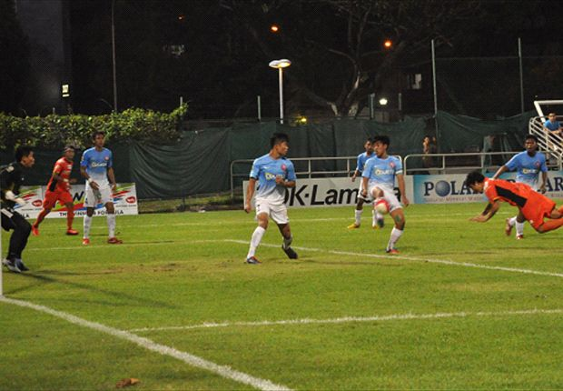 Syazwan stars as Young Lions peg back White Swans