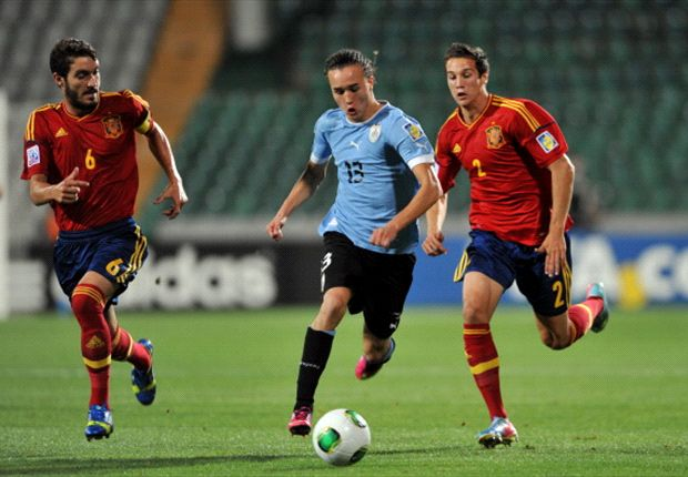 Su paso por la selección uruguaya fue clave para que llegara al Inter.