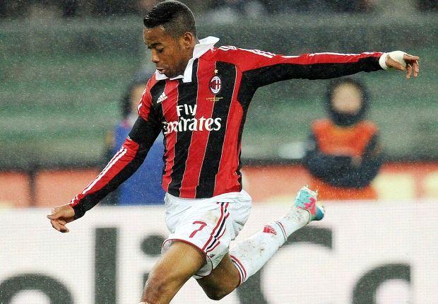 Robinho telah menandatangani kontrak baru sampai 2016