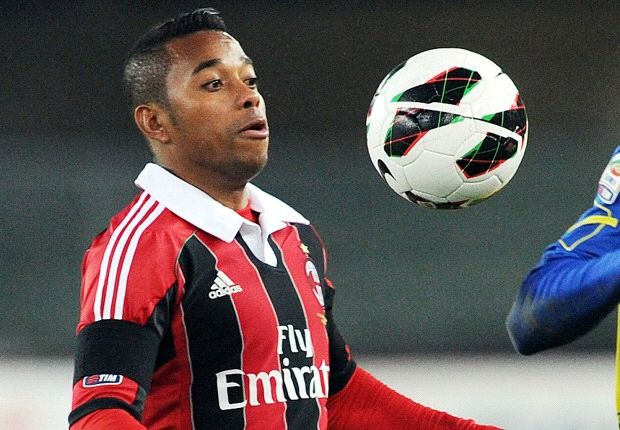 Robinho's AC Milan future to be decided in next 10 days, says Galliani