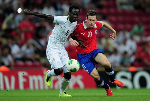 Imágenes: Chile vs Ghana en el Mundial Sub 20