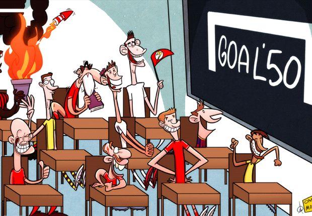 La escuela Goal espera por el premio mayor.