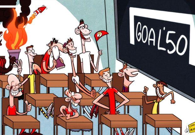 Los candidatos a quedarse con el Goal 50 de la clase 2012/2013