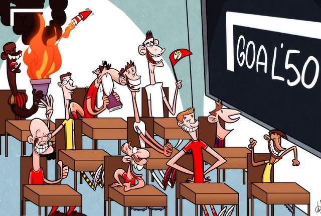 Goal 50: De klas van 2012/13