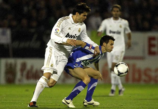 New Adelaide United man Isaias Sanchez up against Real Madrid's Kaka
