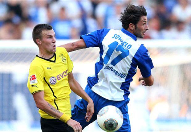 Dortmund moeizaam langs vierdeklasser