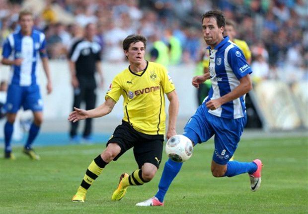 Borussia Dortmund gastierte beim 1. FC Magdeburg