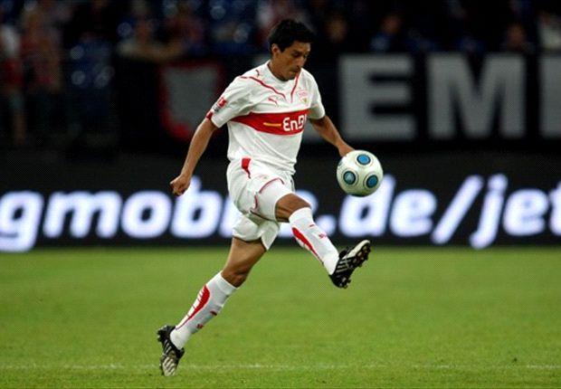 Ricardo Osorio im Trikot des VfB Stuttgart