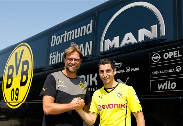 Dortmund confirm Mkhitaryan injury blow