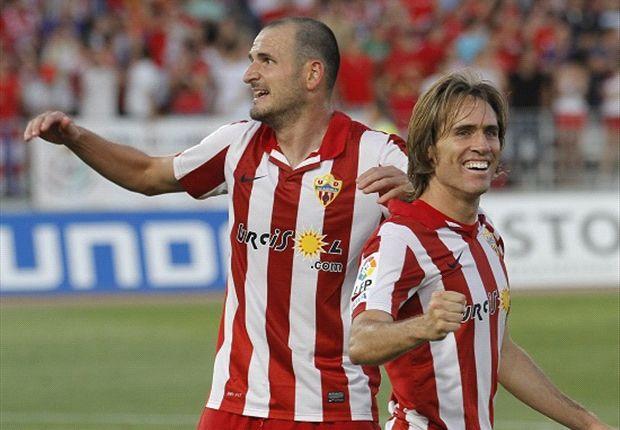 Almería 0-0 Las Palmas: Los andaluces son equipo de octavos de final