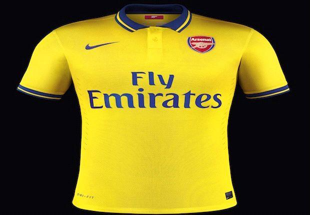 Arsenal launch new away kit