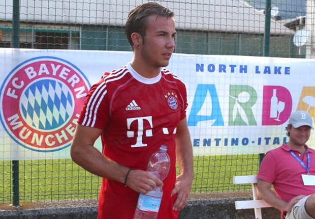 Gotze resumes full training