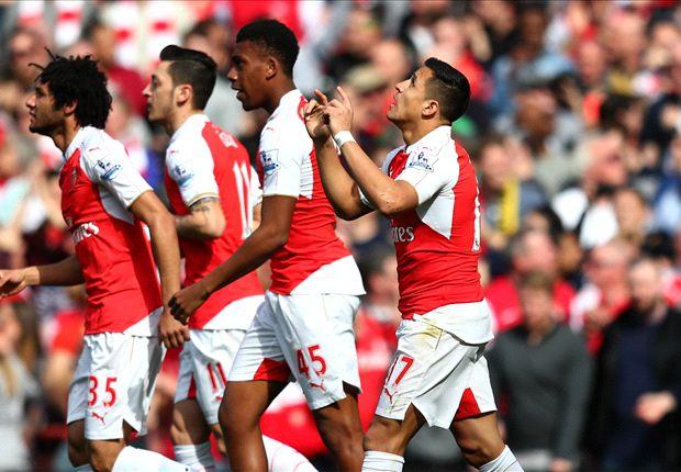 Arsenal 4-0 Watford: Alexis, Iwobi, Bellerin & Walcott on target as Gunners cruise