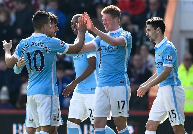 Bournemouth 0-4 Manchester City: De Bruyne nets in first-half goal glut