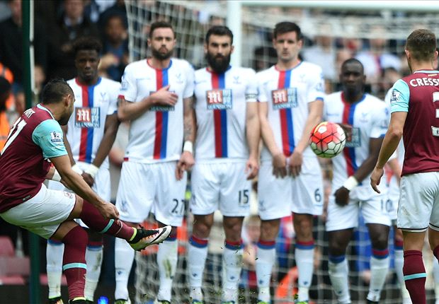West Ham 2-2 Crystal Palace: Payet nets stunning free-kick but Hammers held
