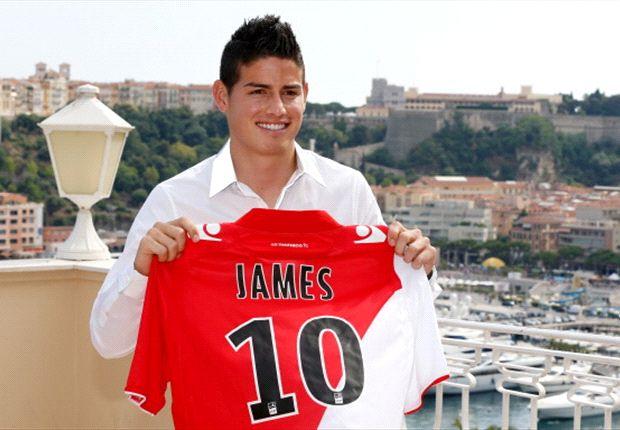 Vorfreude in Monaco: Neuzugang James Rodriguez