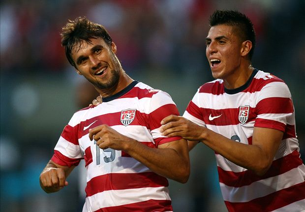 Chris Wondolowski scores his first U.S. hat trick