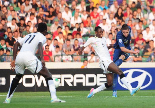 Ghana kämpft gegen Irak um Platz drei
