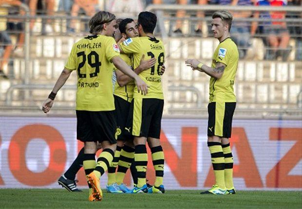 Dortmunds Neuzugänge wieder im Einsatz