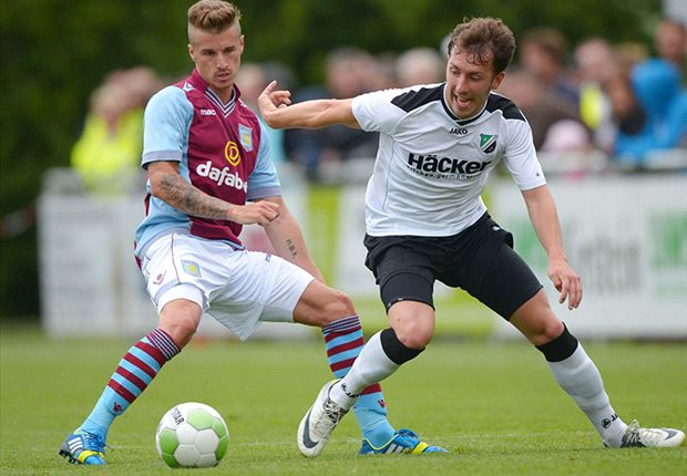 Rodinghausen 1-1 Aston Villa: Helenius grabs debut goal but fifth-tier Germans hold out for draw