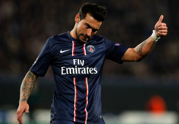 Lavezzi would do well at Inter, says Cordoba