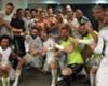 El festejo íntimo del Real Madrid