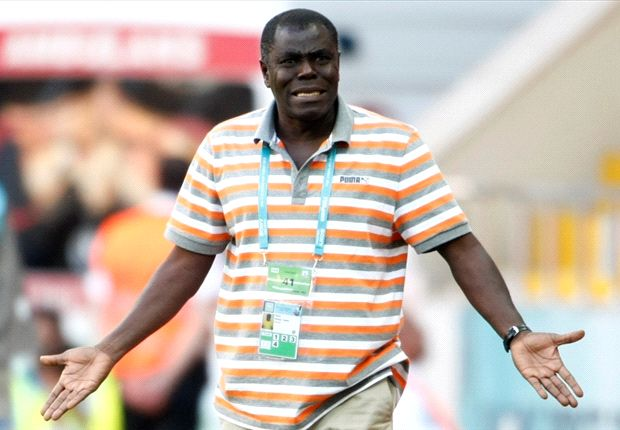 Sellas Tetteh and his trademark shirt at the 2013 Under-20 World Cup