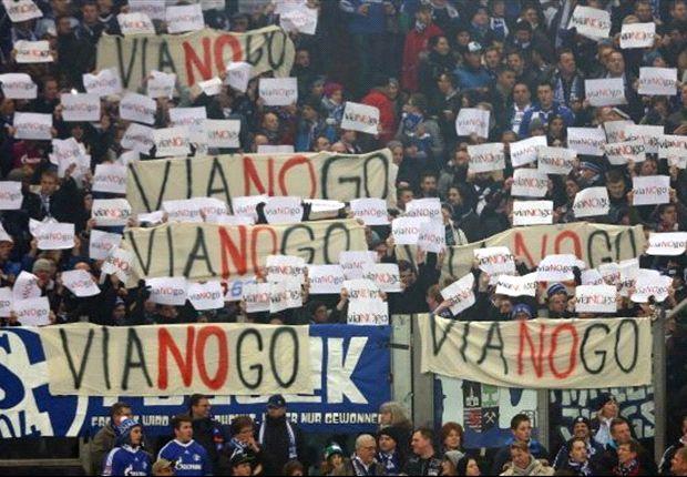 Schalke-Fans protestieren gegen Viagogo