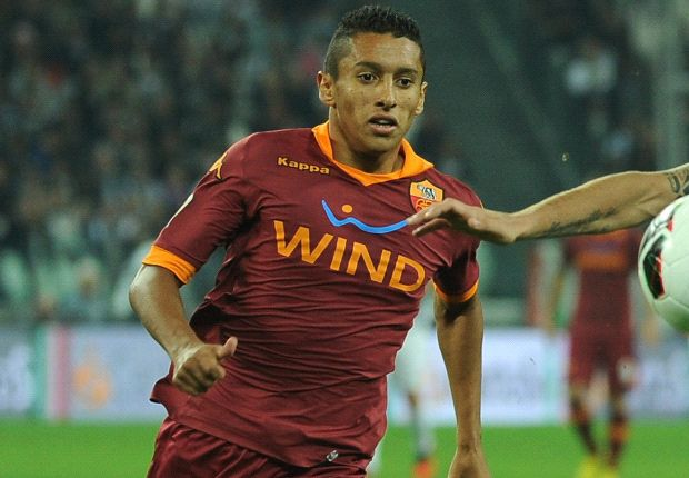Marquinhos bids farewell to Roma