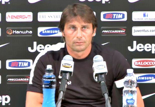 Antonio Conte menargetkan pencapaian historis bersama Juve musim depan